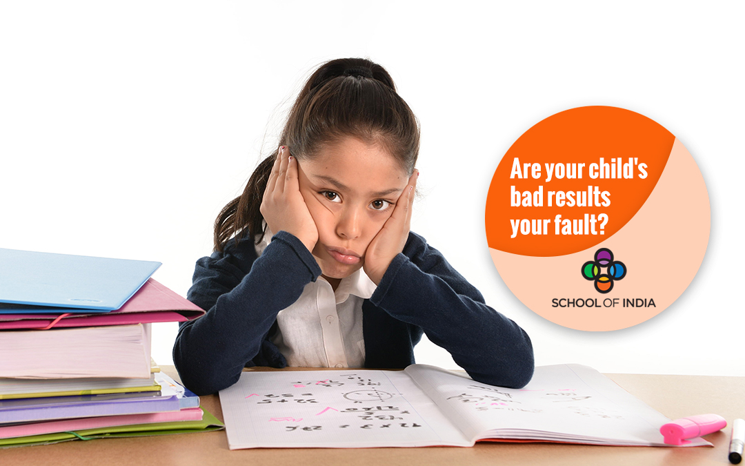 Are your child's bad results your fault